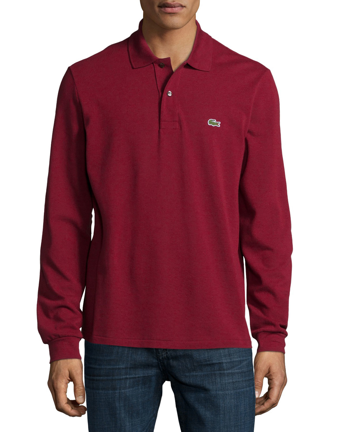 55403ad5029a netherlands lacoste classic long sleeve polo 8bcc1 694d2