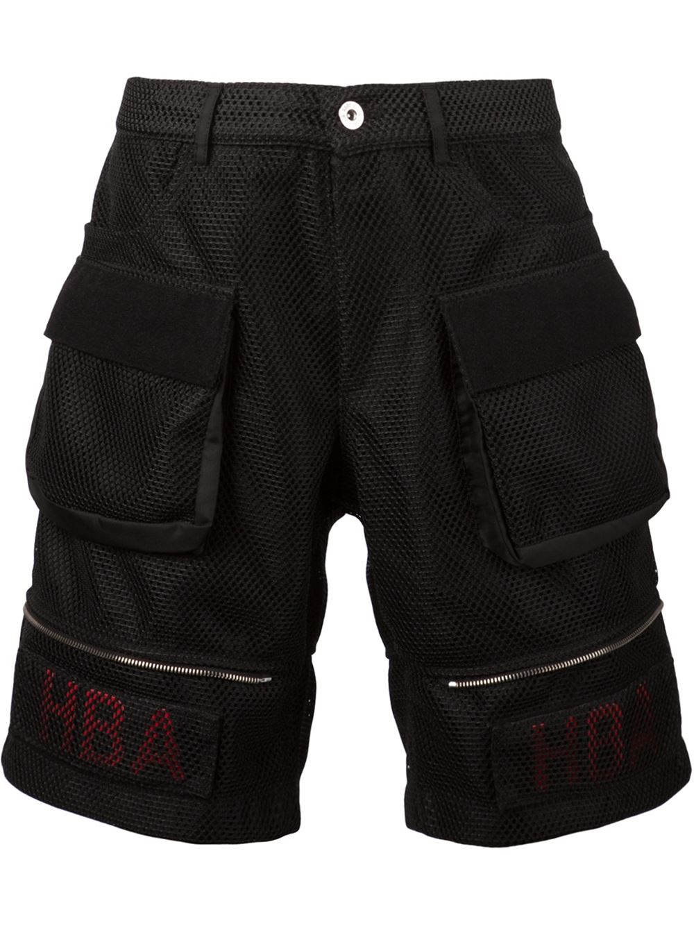 hood by air mesh cargo shorts in black for men lyst