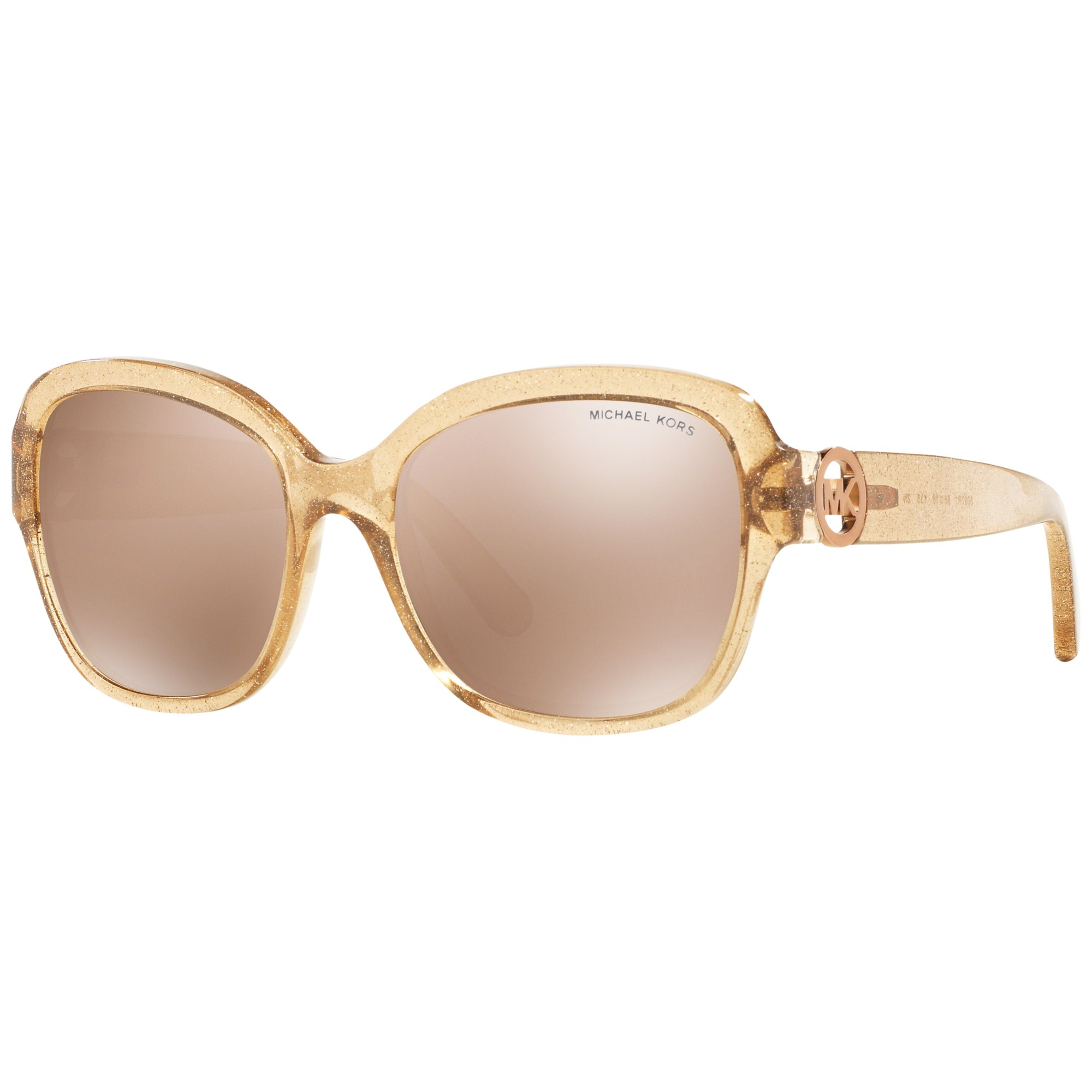 73428bba05 Michael Kors Mk6027 Tabitha Iii Polarised Square Sunglasses in ...