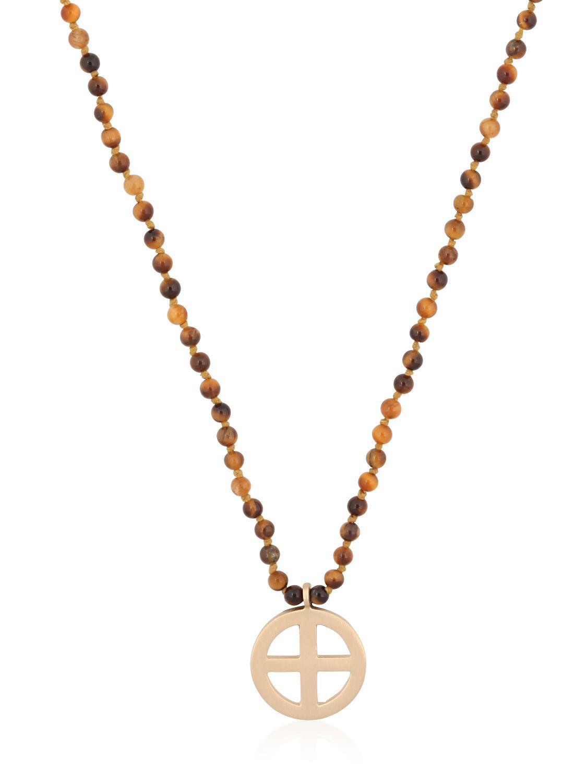 Luis Morais Suncross pendant-necklace 6CAYsq