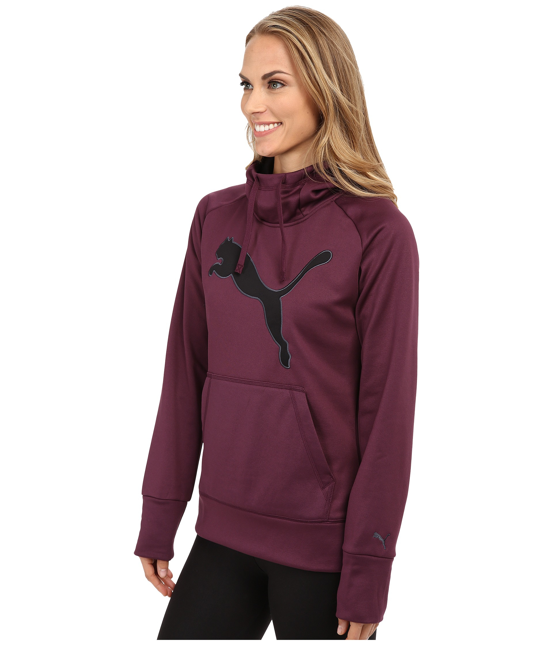puma purple hoodies