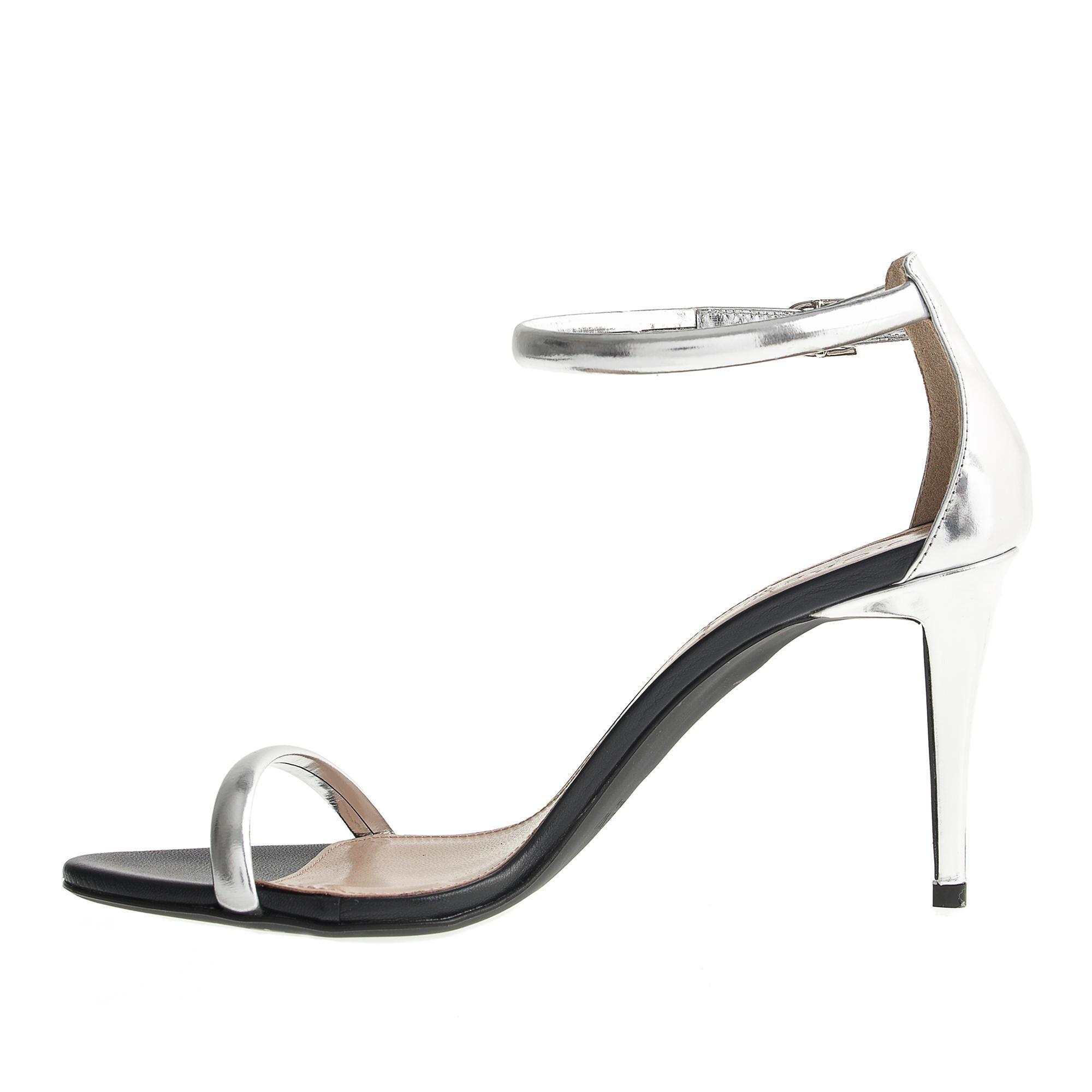 J Silver Heels - Red Heels Vip