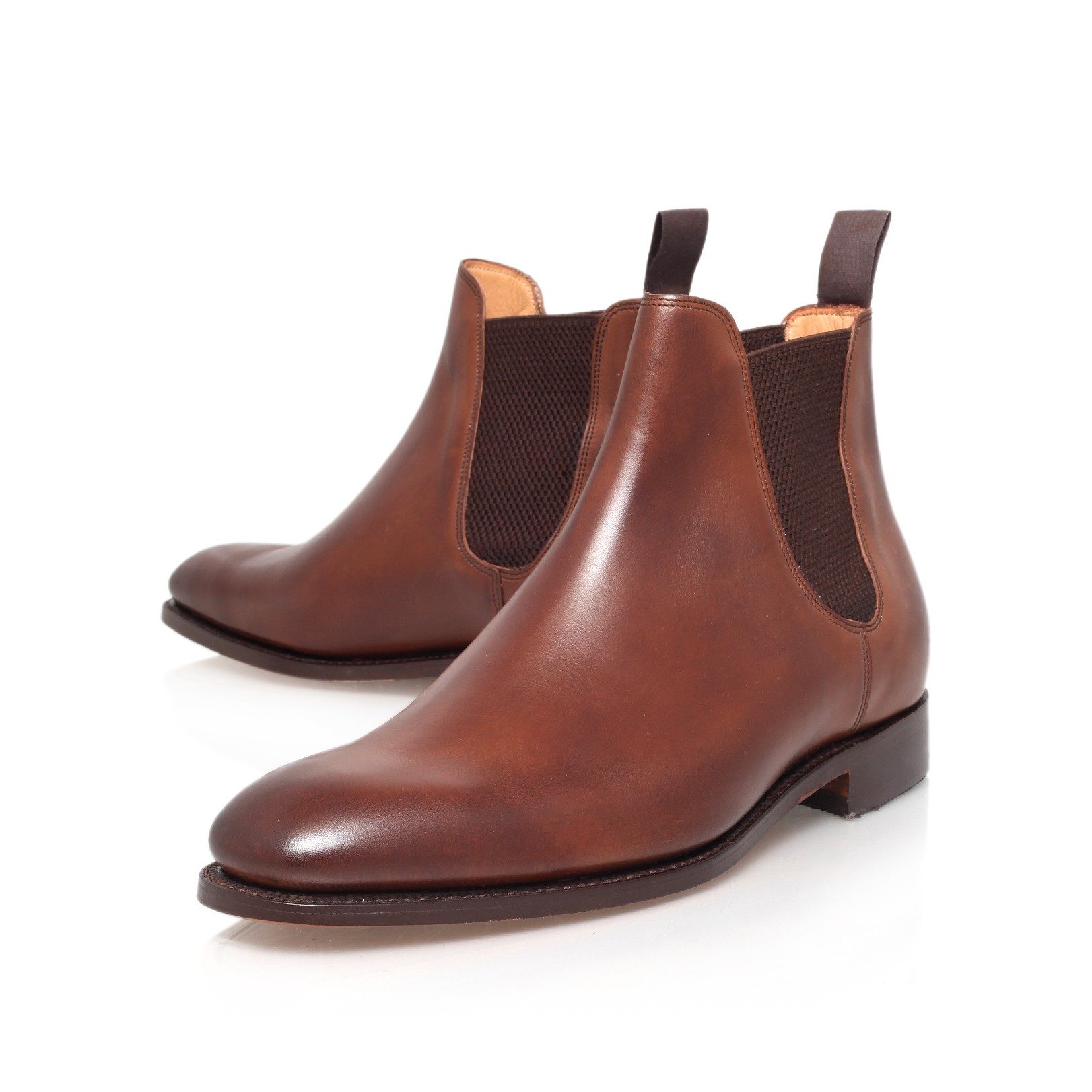 f58e99183a4 Barker Eskdale Chelsea Boot in Brown for Men - Lyst