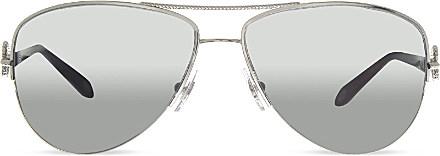 85f32701b3 Tiffany   Co. Tf3046 Aviator Sunglasses - For Women in Metallic - Lyst