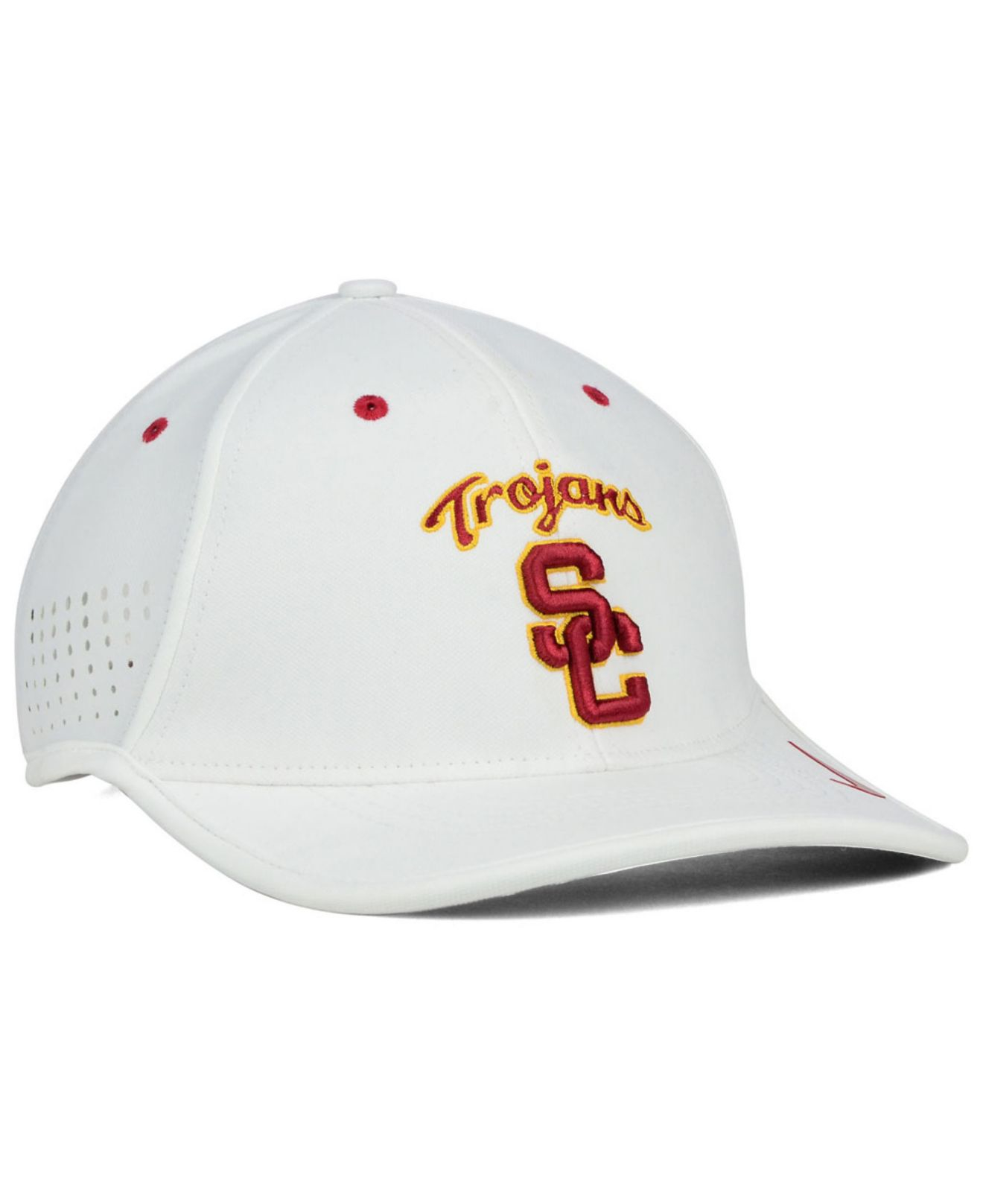 123ccba22c446 ... coupon code for lyst nike usc trojans dri fit coaches cap in white for  men b7112