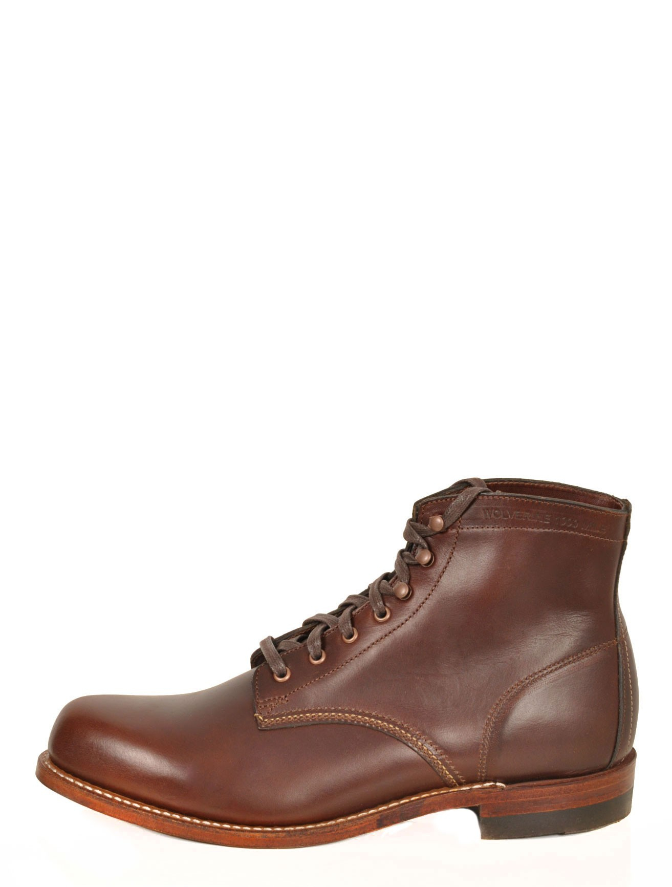 wolverine 1 000 mile boot in brown for lyst