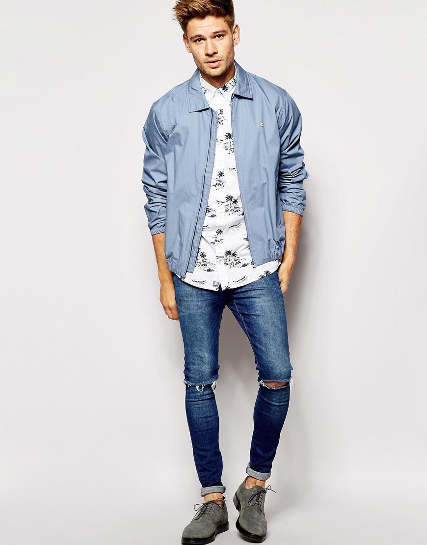 tommy hilfiger shirt with palm tree print short sleeves. Black Bedroom Furniture Sets. Home Design Ideas