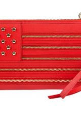 JC de Castelbajac American Flag Leather Wallet