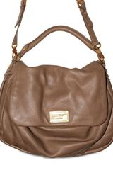 Marc By Marc Jacobs Calfskin Ukita Shoulder Bag - Lyst
