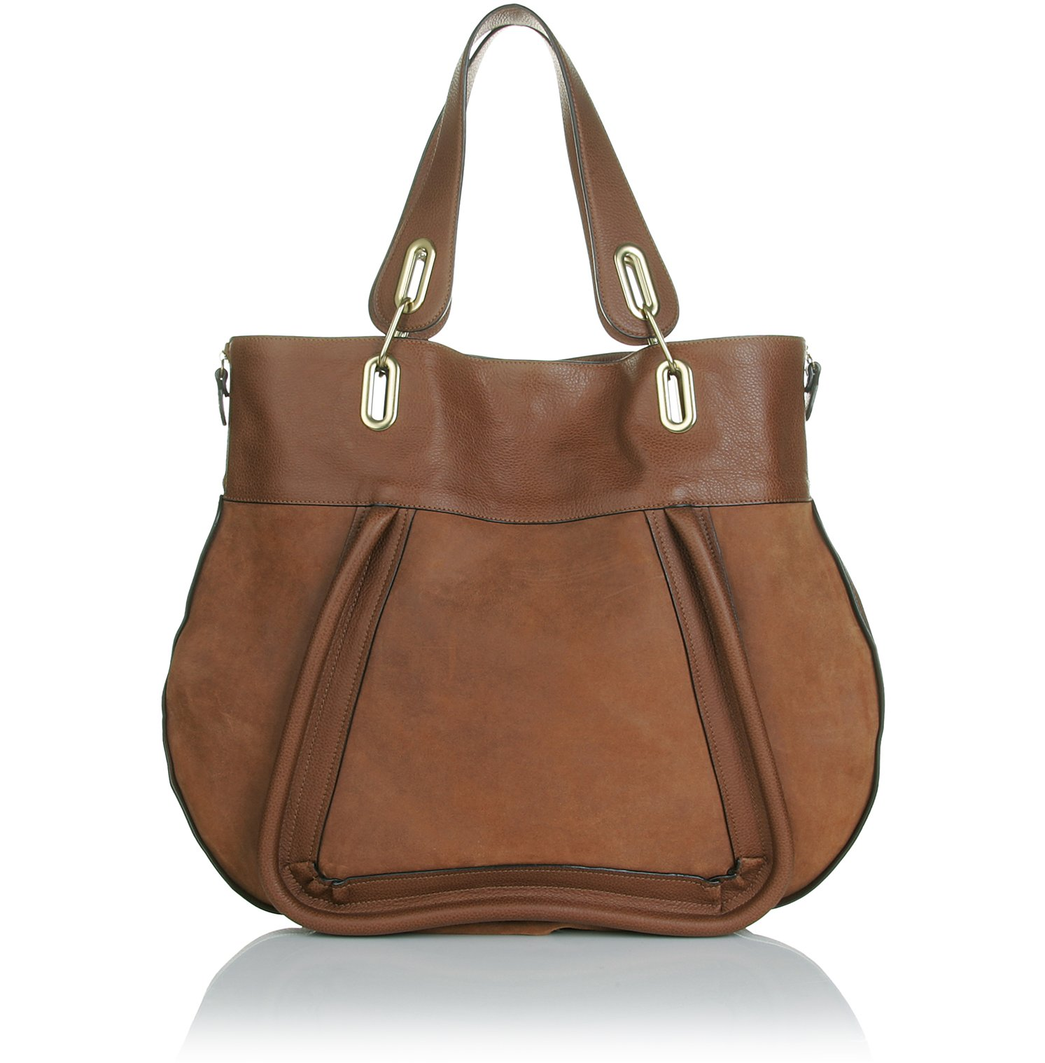 Chlo¨¦ Paraty Large Leather Tote in Brown (tan) | Lyst