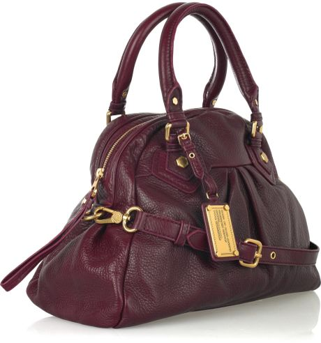 Marc By Marc Jacobs Baby Aidan Leather Bowling Bag In