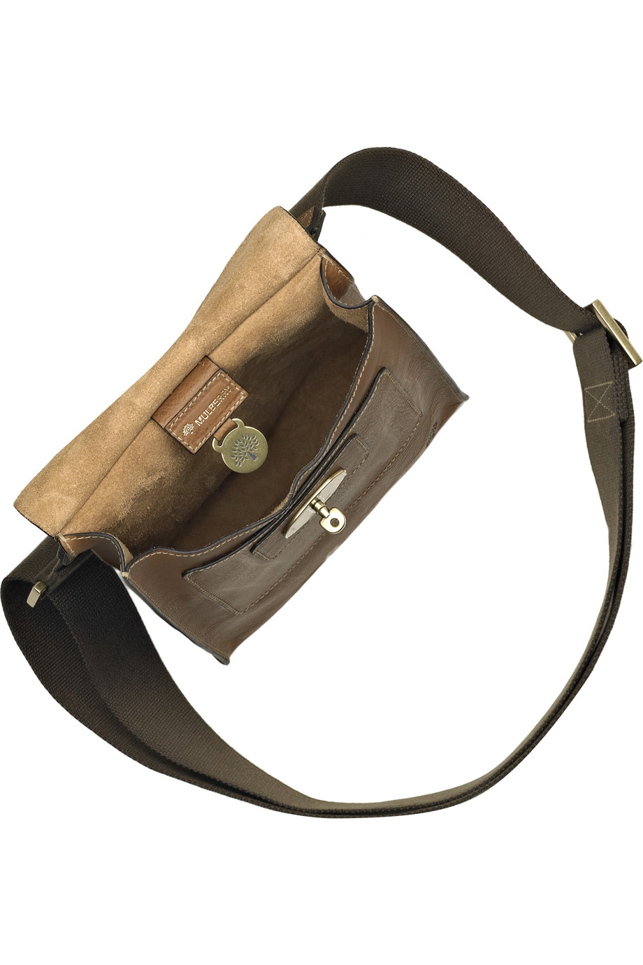 ... coupon code lyst mulberry antony leather cross body bag in brown edfc4  eef73 f54ead77d9f0c