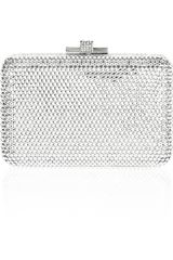 Judith Leiber Small Airstream Fine Crystal-embellished Clutch - Lyst
