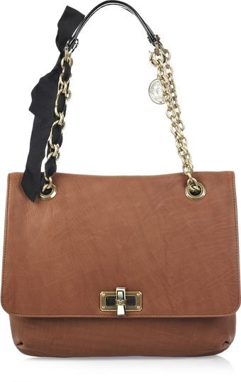 Lanvin Happy Medium Leather Shoulder Bag - Lyst