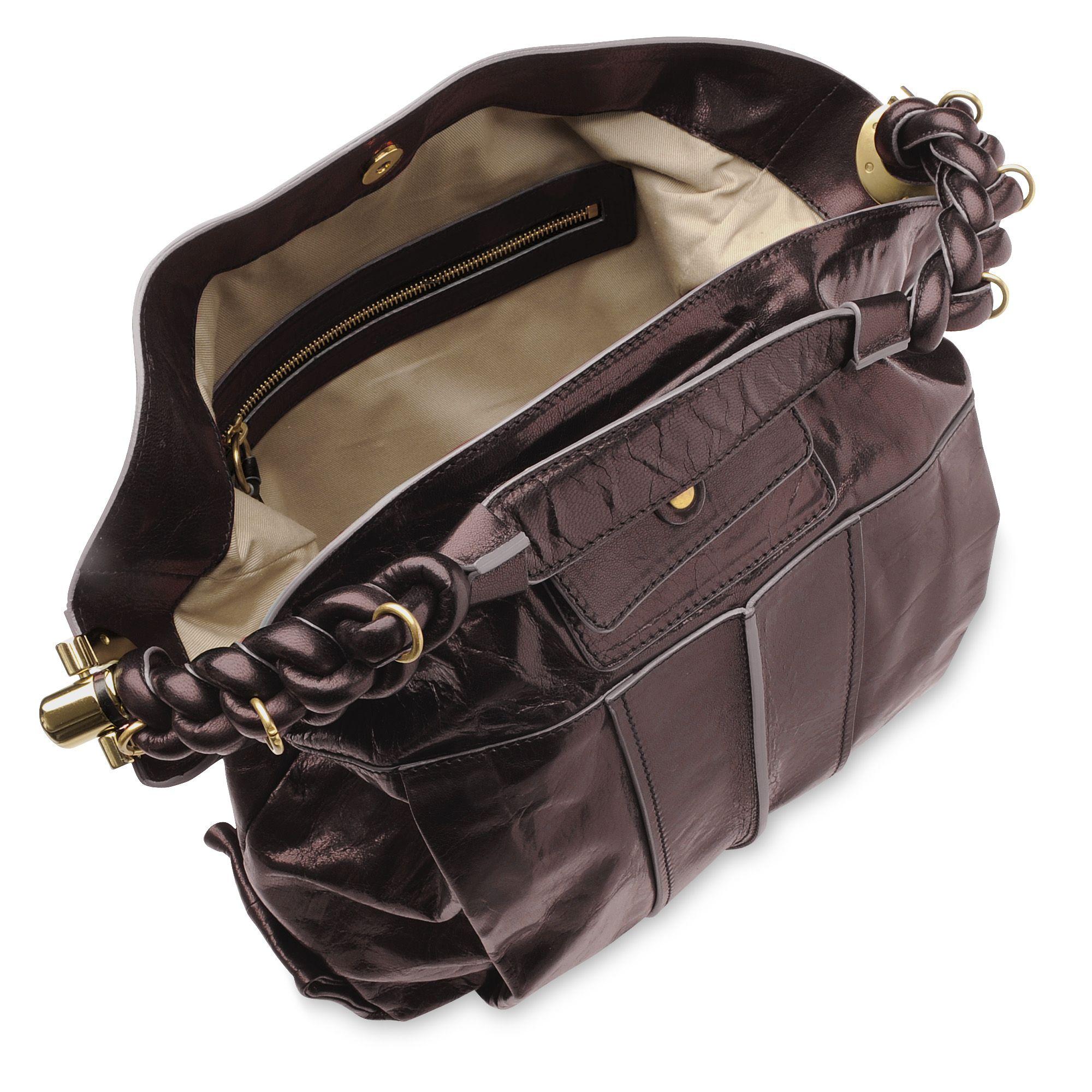 Chlo¨¦ Heloise Hobo Bag in Brown (moka) | Lyst