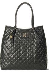 DKNY Quilted Shopper - Lyst