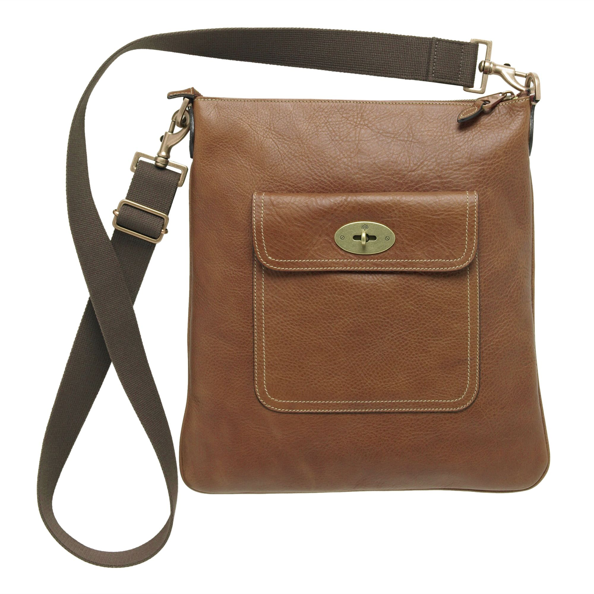 ... promo code lyst mulberry seth messenger bag in brown dfa72 07b61 f81051273935b