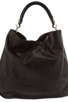 Yves Saint Laurent Black Leather Shoulder Bag - Lyst