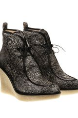3.1 Phillip Lim Ponyskin Wedged Boot - Lyst