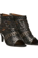 Givenchy Shoe Boots with Midi Heel - Lyst