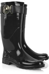 Burberry Rubber Wellington Boots - Lyst