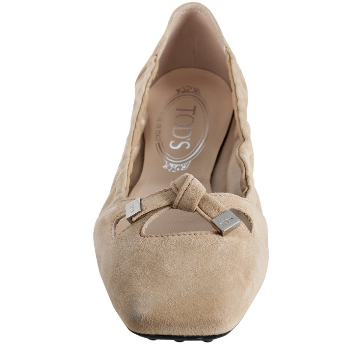 popular sale online Tod's Suede ballet Flats with paypal for nice cheap online bttQU