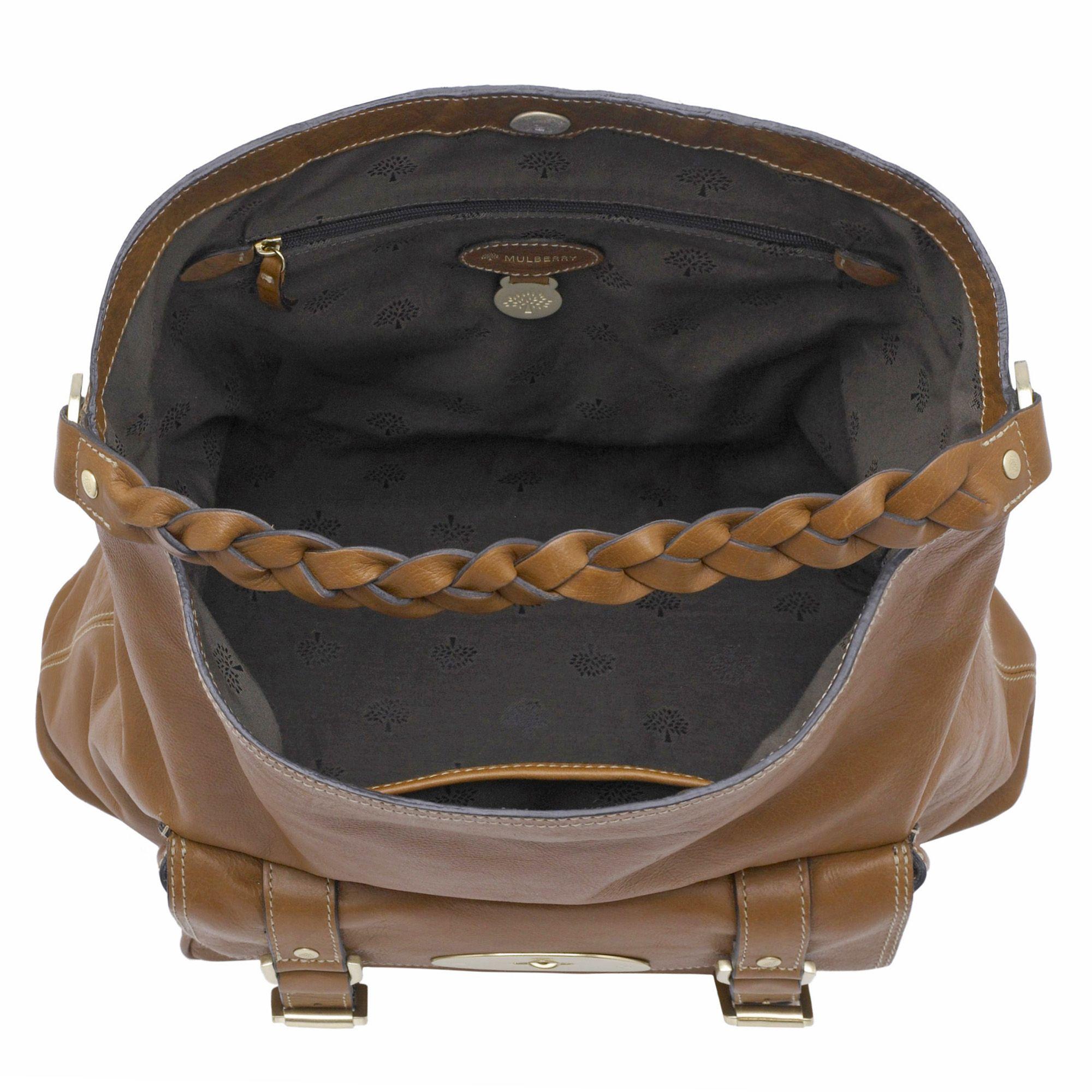 ... sweden mulberry alexa hobo bag in brown lyst 9430d d2128 9ea1bc82ff994
