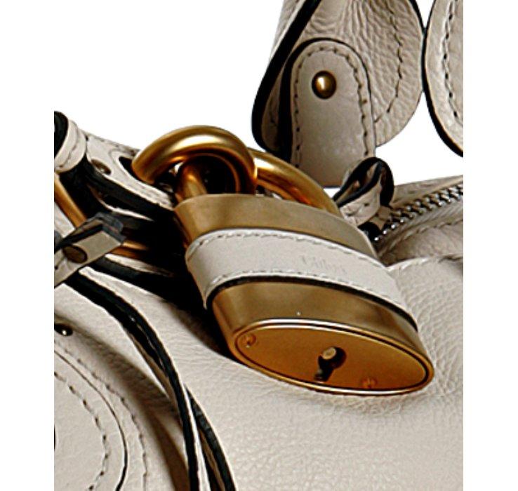knock off chloe bags - Chlo�� Cream Leather Paddington Small Shoulder Bag in White (cream ...