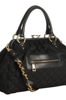 Marc Jacobs Quilted Nylon Stam Satchel - Lyst