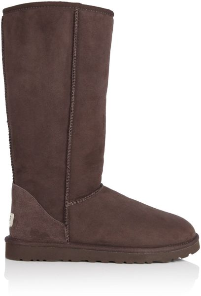 ugg chocolate classic boots in brown chocolate lyst