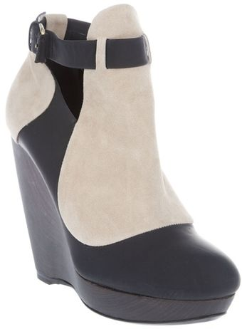 Balenciaga Wedge Shoe Boot - Lyst