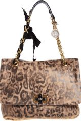 Lanvin Happy Pm Printed Bag - Lyst