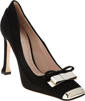 Miu Miu Metal Toe Pump - Lyst