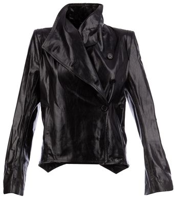 Ann Demeulemeester Leather Jacket - Lyst