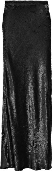 Ashish Sequined Silk Maxi Skirt - Lyst
