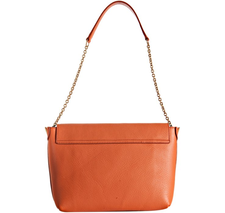 Celine Two Tone Calfskin Medium Case Flap Bag Ghw