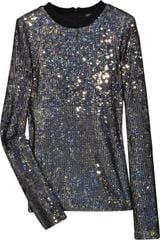 Proenza Schouler Long-sleeved Sequin Top - Lyst