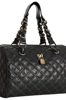 Marc Jacobs Black Quilted Leather Westside Chain Bag - Lyst