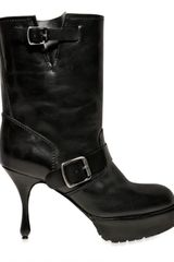 Marc Jacobs Double Buckle Low Boots - Lyst