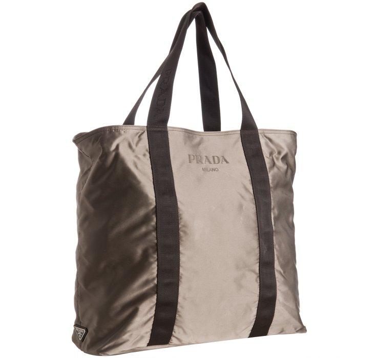 8de1d6a28a2f94 ... camouflage nylon tote shoulder d85e6 621dd; wholesale prada mens  leather bag handbag tote shopping saffiano lyst prada smoke nylon logo  detail travel