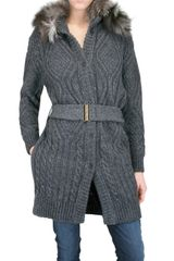 Space Wool Coat - Lyst