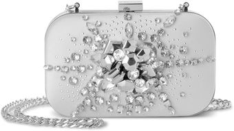 Karen Millen Graphic and Jewel Clutch - Lyst