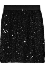 Aubin & Wills Sequin-embellished Mini-skirt - Lyst