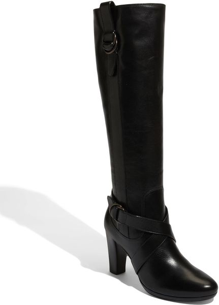 Cole Haan Courtney Air Tall Boot in Black