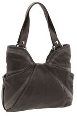 Kooba Audrey Pleated Leather Tote - Lyst