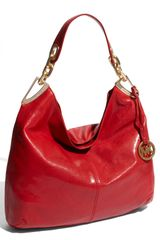 Michael by Michael Kors Ines - Large Leather Hobo - Lyst