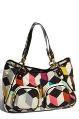 Ted Baker Print Canvas Shopper - Lyst