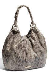 Elliott Lucca New Snake Embossed Leather Tote - Lyst