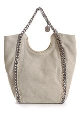 Stella McCartney Canvas Falabella Big Chain Bag - Lyst