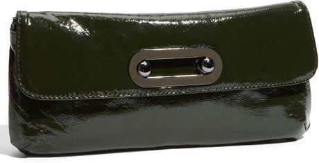 Hobo International Patent Shoulder Bag 24